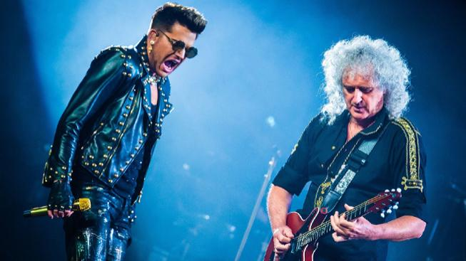 Qeen - Brian May a Adam Lambert