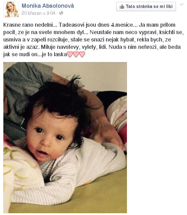 Monika Absolonová - Tadeáš