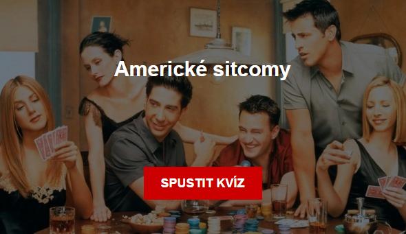Americke sitcomy - kvíz