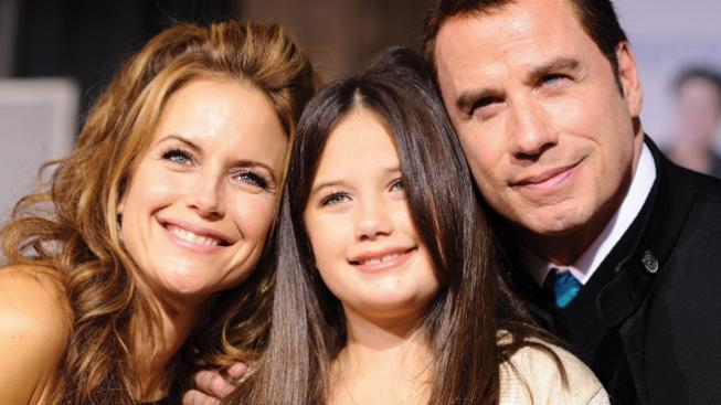 John Travolta, Kelly Preston a Ella Bleu Travolta