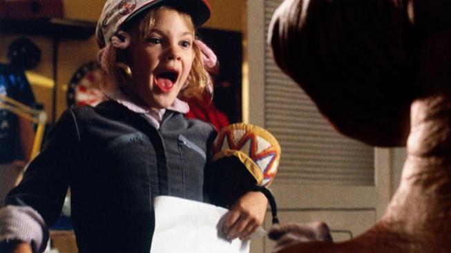 Drew Barrymore ve filmu E.T. - Mimozemšťan