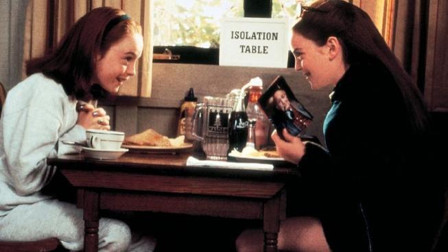 Lindsay Lohan ve filmu Past na rodiče