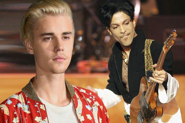 Justin Bieber a Prince