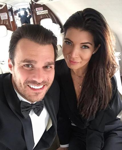 Leoš Mareš a jeho přítelkyně Monika Koblížková