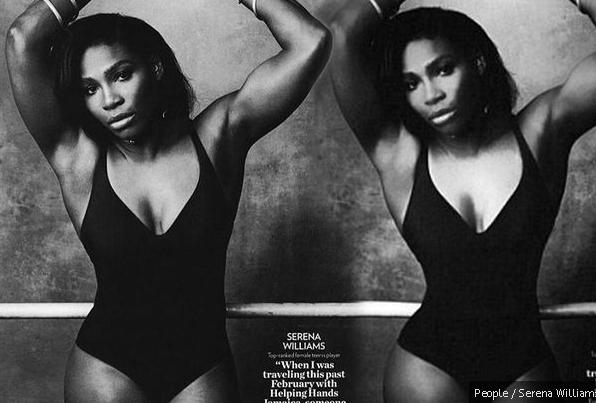 Serena Williams - photoshop