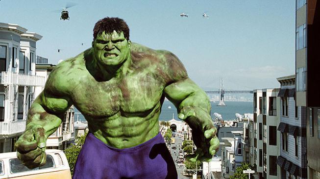 Eric Bana ve filmu Hulk (2003)