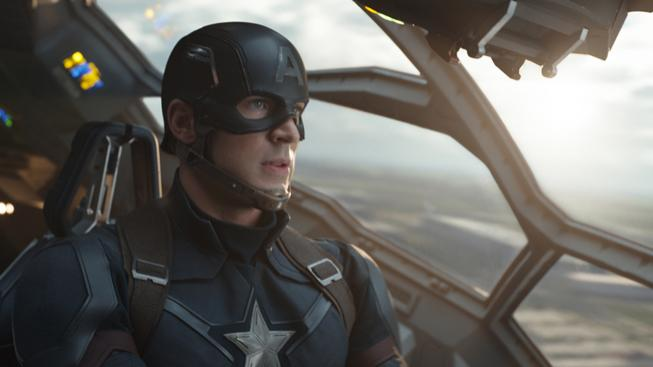 Chris Evans jako Captain America