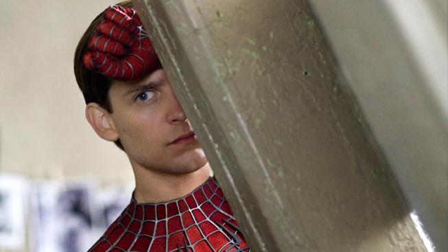 Tobey Maguire jako Spider-Man