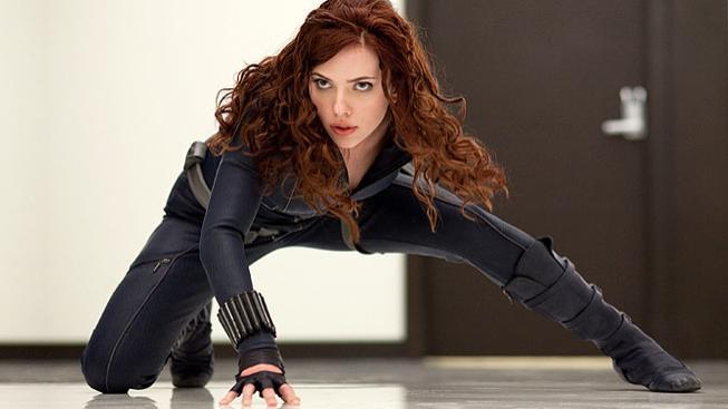 Scarlett Johansson ve filmu Iron Man 2