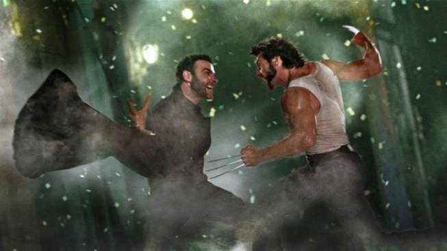 Liev Schreiber a Hugh Jackman , X-Men: Budoucí minulost