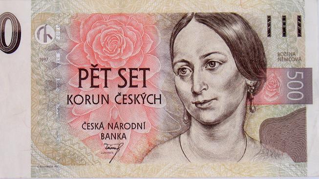 Božena Němcová na 500kč bankovce