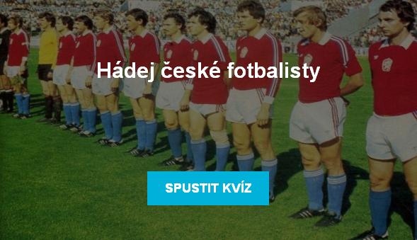 Kvíz - hádej české fotbalisty