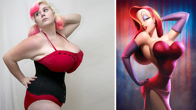 Penny Brown = Jessica Rabbit