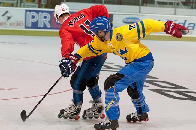 Hokej na kolečkových bruslích