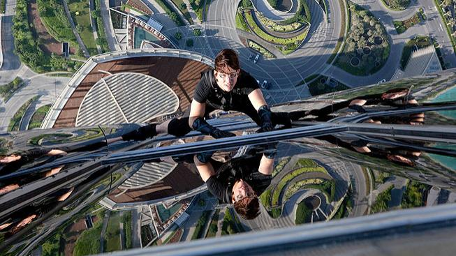 Tom Cruise ve filmu Mission Impossible: Ghost Protocol