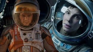 Marťan nebo Gravitace? Který z úspěšných filmů se vám líbí více?
