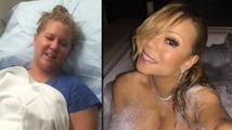 To nejlepší ze sociálních sítí: Otrávená Amy Schumer a nahá Mariah Carey