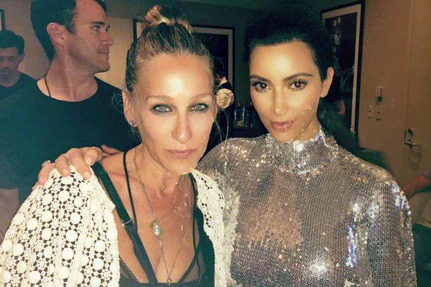 Kim Kardashian, Sarah Jessica Parker