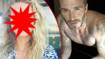 To nejlepší ze sociálních sítí: Gwyneth Paltrow bez make-upu a klikující David Beckham