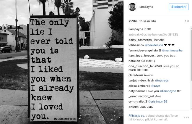 Liam Payne - vzkaz