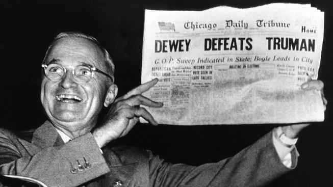 Truman VS. Dewney