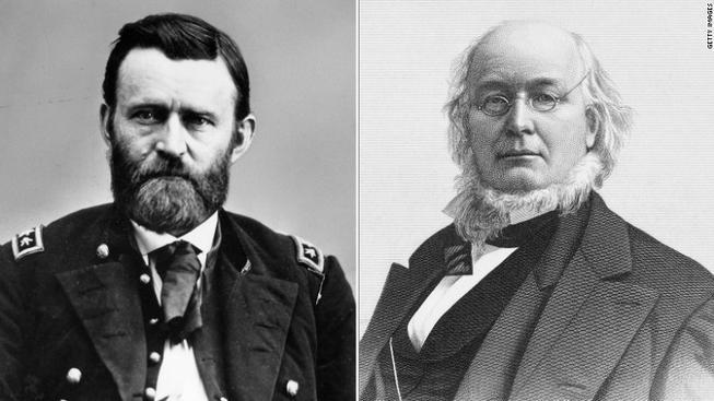Ulysses S. Grant VS Horace Greeley
