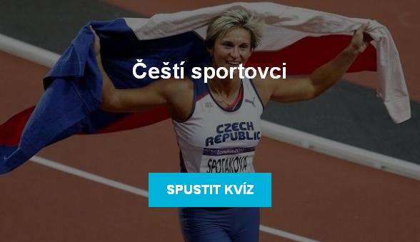 Kvíz: Čeští sportovci