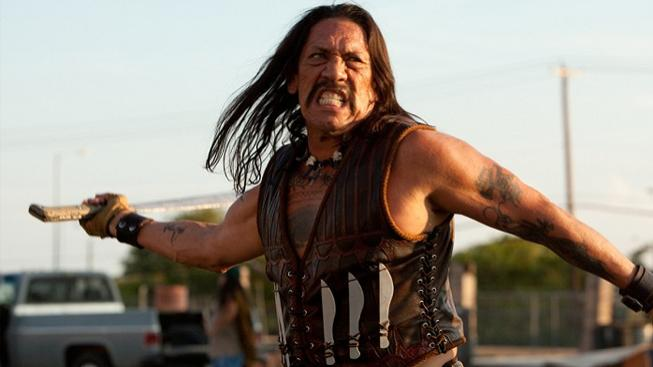 Danny Trejo ve filmu Machete