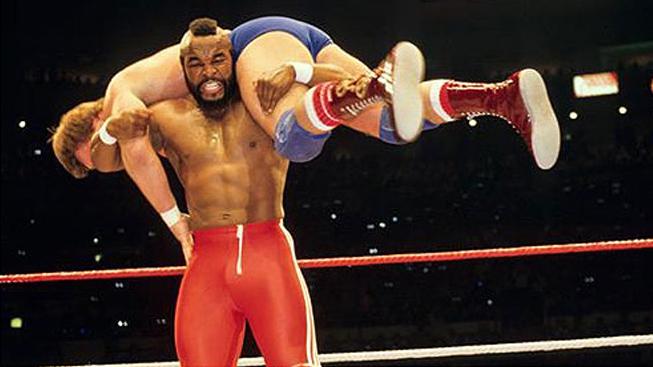 WrestleMania - Mr. T, Hulk Hogan
