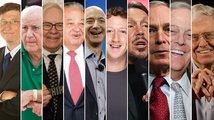 10 nejbohatších lidí světa 2016