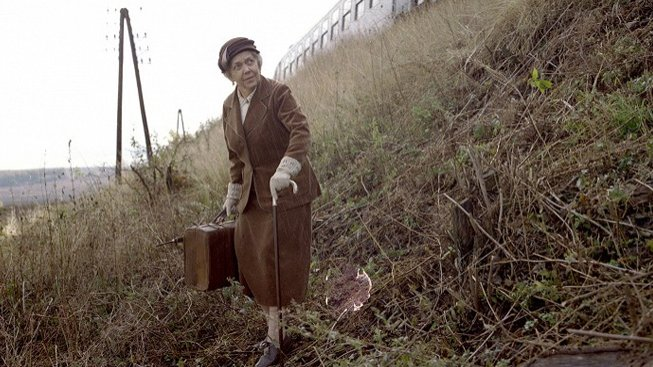 Jiřina Jirásková ve filmu Zámek v Čechách