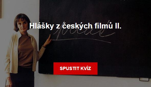 Kviz: Hlášky z českých filmů 2