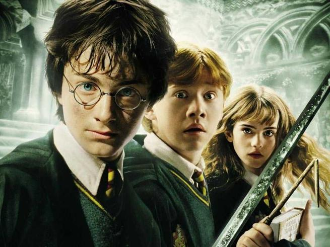 Tapeta: Harry Potter a Tajemn komnata - Harry Potter and The Chamber of Secrets