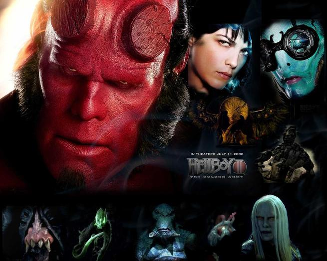 Tapeta: Hellboy 2: Zlatá armáda - Hellboy 2: The Golden Army