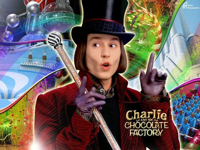 Tapeta: Karlík a továrna na čokoládu - Charlie and the Chocolate Factory
