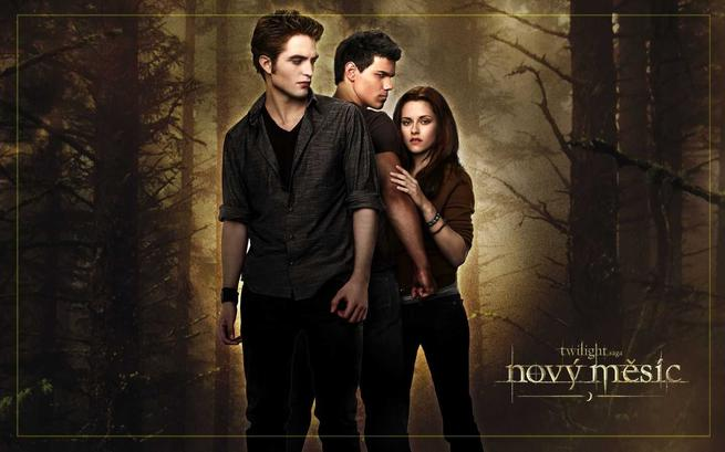 Tapeta: Twilight sága: Nový měsíc - The Twilight Saga: New Moon