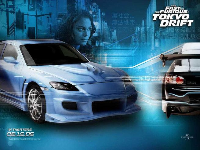 Tapeta: Rychle a zběsile: Tokijská jízda - The Fast and the Furious: Tokyo Drift