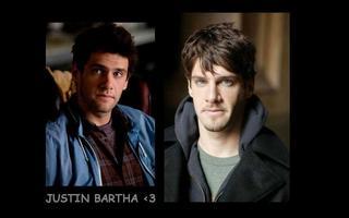 Tapeta: Justin Bartha