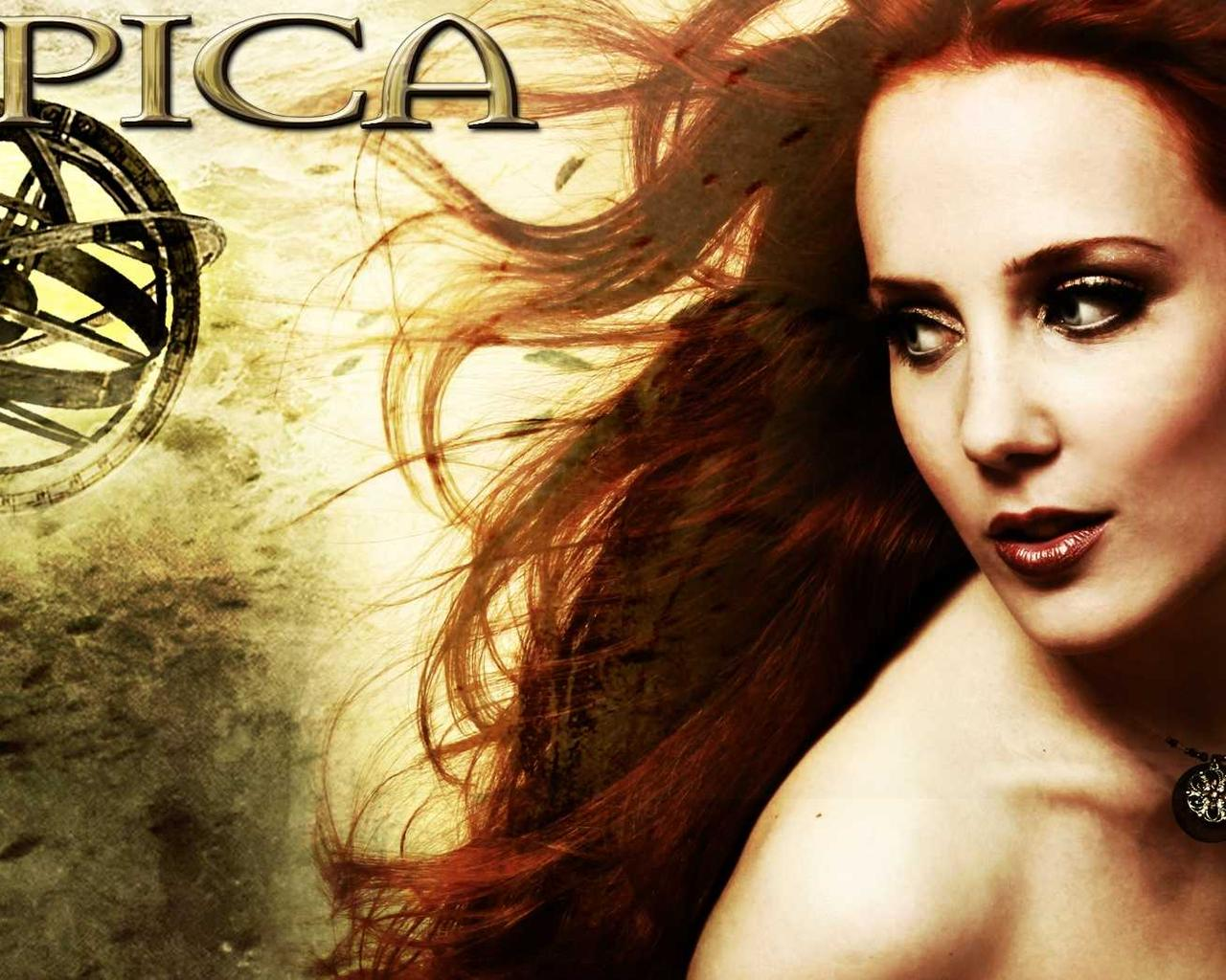 simone simons wallpaper 1280x1024