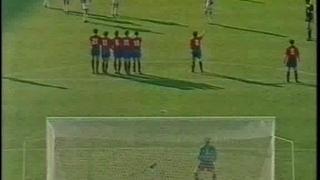 1990 World Cup Yugoslavia vs Spain (Dragan Stojkovic)