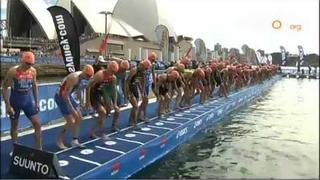 2012 Dextro Energy World Triathlon Sydney - Elite Men