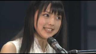 A Japanese pop singer concert of Erina Mano