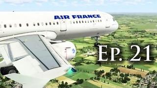 "Airbus X & SR-71 Blackbird - ""The Flight Simulator Experience Show"" - Ep. #21 - FSX [Commentary["