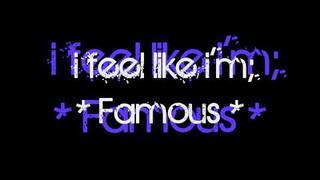 Akon ft. Nick Cannon - Famous with Lyrics(Keenan Cahill)