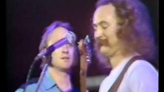 Almost Cut My Hair (HD HIGHEST RES ON YT) - Live Wembley 1974 - Crosby, Stills, Nash & Young