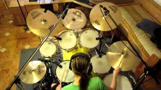 Angra - Carry On (Drum Cover)
