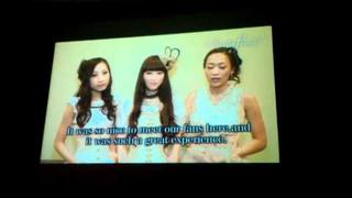 Anime Expo 2011 Kalafina farewell message