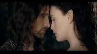 Arwen and aragorn