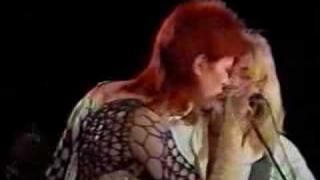 Aynsley Dunbar - Jean Genie (David Bowie 1980 floor show)