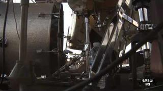 """Beach House """"Zebra"""" at Auditorium Shores SXSW Music 2009"""